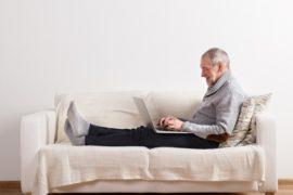 Las personas mayores son cada día más tecnológicas